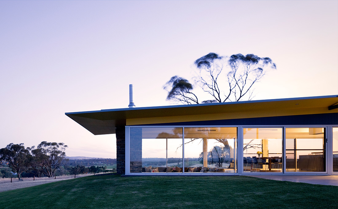 Barossa Glass House Max Pritchard Gunner Architects